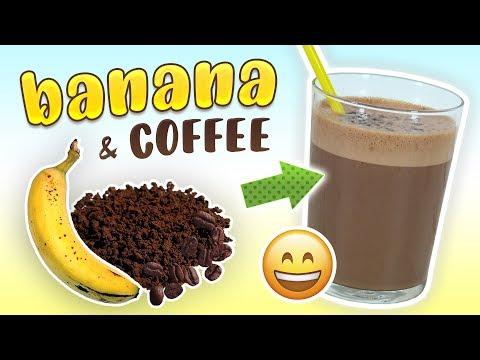 Banana Coffee Smoothie (Breakfast Smoothie Recipe)