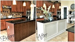 NEW! Home Improvements DIY Kitchen Island Makeover & Reveal