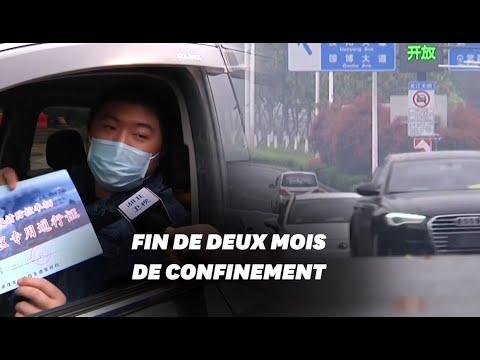 À Wuhan, des habitants autorisés à sortir pour la première fois en deux mois