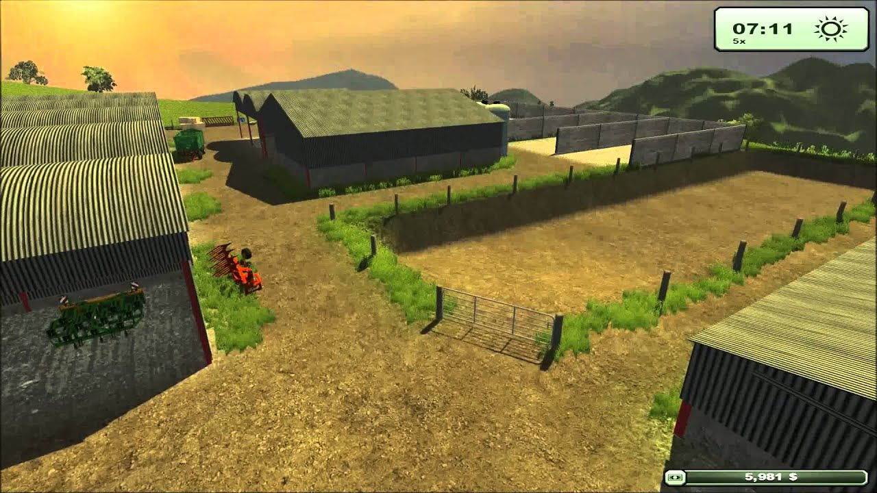 mod for farming simulator 2013 gmt bittadon farm 2013 map review