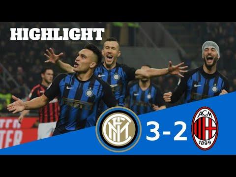 Kemenangan Inter Milan Vs AC Milan 3-2 Derby Milan
