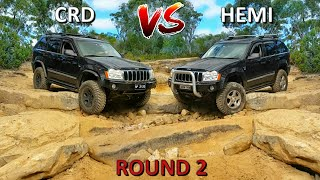Jeep Grand Cherokee 4x4 Challenge - CRD vs HEMI - Part 2
