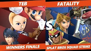 Smash Ultimate Tournament - WYW | Teb Vs. ESE | Fatality - Splat Bros SSBU Squad Strike WF
