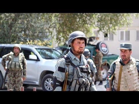 Rocket hits Afghan defense ministry complex near U.S. embassy