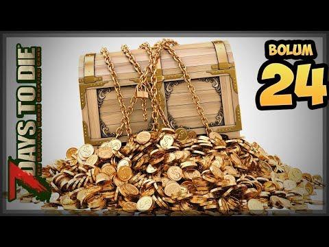 Hazine Avı - 7 Days To Die -Bölüm 24-Türkçe Oynanış
