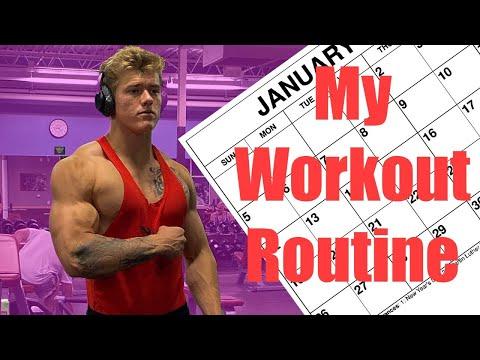My Workout Routine | 8 DAY SUPER SPLIT