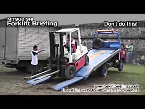 Poor planning damages truck