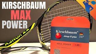 Kirschbaum Max Power 16g Tennis String Review
