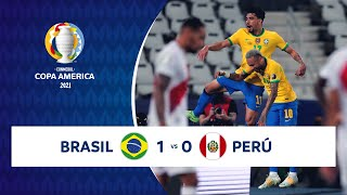 HIGHLIGHTS BRASIL 1 - 0 PERÚ | COPA AMÉRICA 2021 | 05-07-21