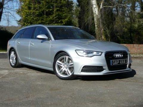 2011 Audi Avant A6 Quattro 3 0 TDi V6 S Line Auto in Silver - YouTube