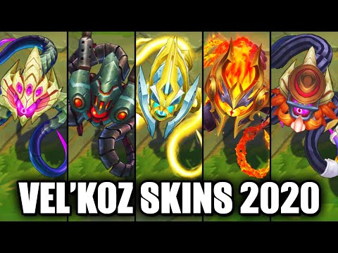All Vel'Koz Skins Spotlight 2020 (League of Legends)