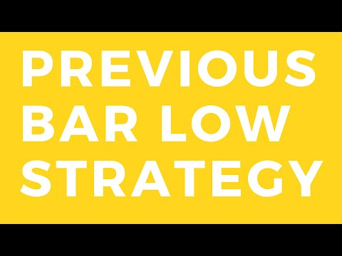if open bar is near previous bar low then sell entry strategy