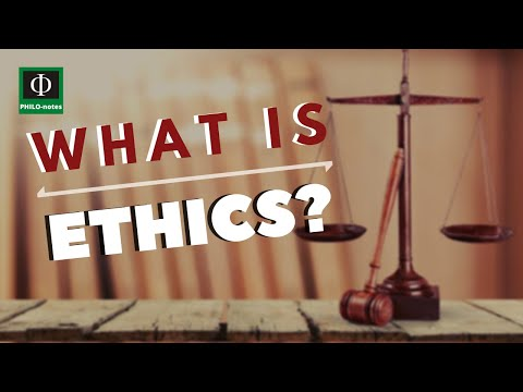 What is Ethics? (Ethics Defined, Ethics Meaning) (See link below for more video lectures in Ethics)