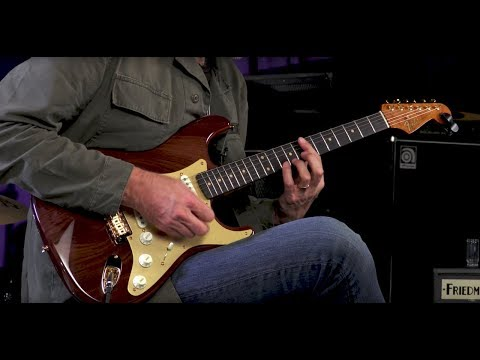 Fender Custom Shop 2017 Collection Artisan Stratocaster – Figured Rosewood  •  SN: CZ529731