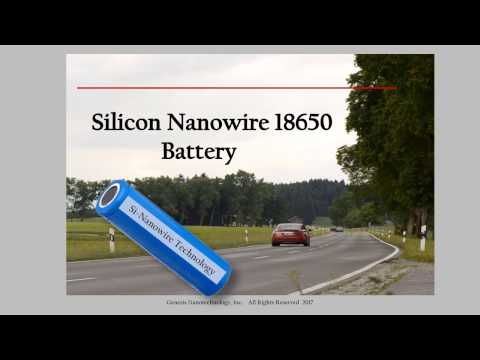 Next Generation Si Nanowire Batteries for the