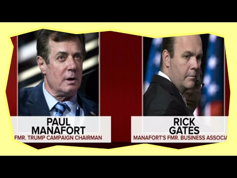 Manafort and Gates Charged with Conspiracy & Money Laundering