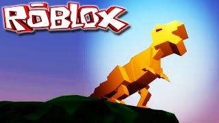 """Simulatore di dinosauro """"Roblox"""" (Gioco/PT-BR) - Vida De Tiranossauro Rex! (#1)"""