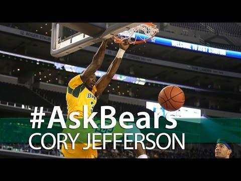 Baylor Basketball (M): #AskBears with Cory Jefferson
