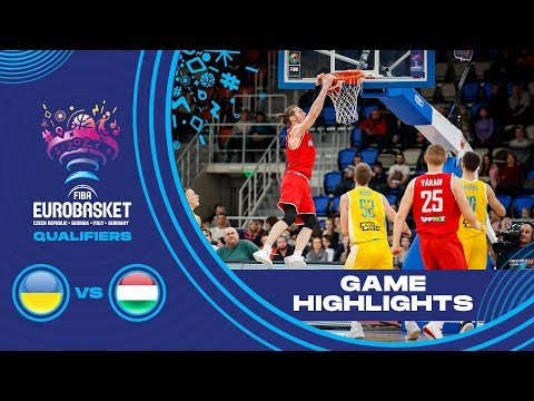 Ukraine v Hungary - Highlights - FIBA EuroBasket 2021 - Qualifiers