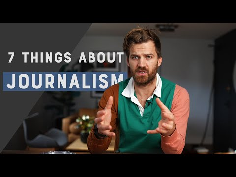 7 things I've learned about journalism in 7 years of being a