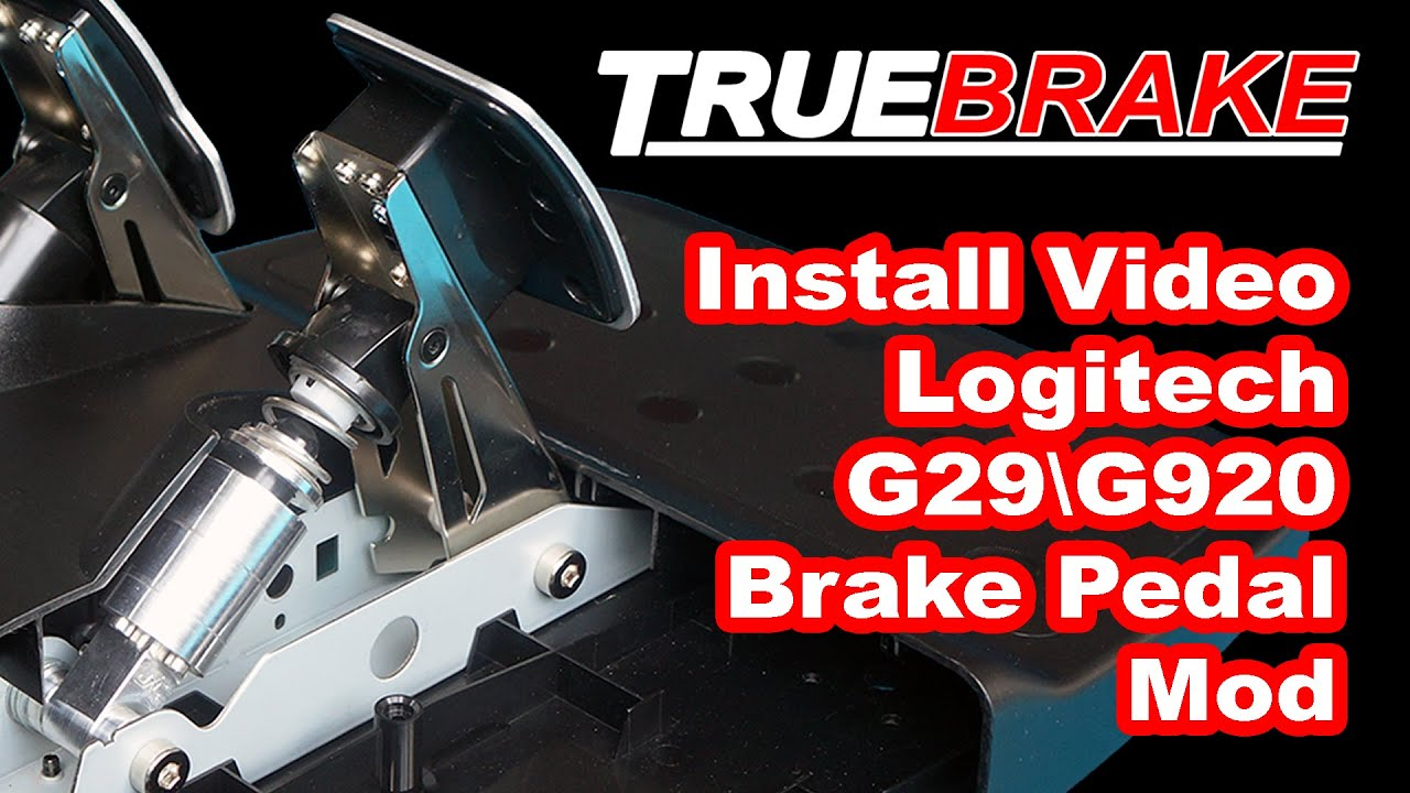 Logitech G29 Brake Pedal Mod