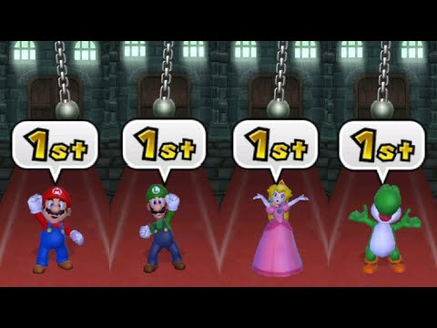 Mario Party 9 - All Tricky Minigames