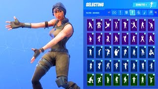 ASSAULT TROOPER SKIN SHOWCASE AVEC TOUS LES DANCES FORTNITE - EMOTES