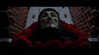 Клип V значит Vendetta под песню PanHeads Band Восстань Skillet Cover