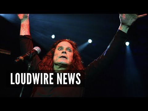 Ozzy Osbourne Performs During Full Solar Eclipse