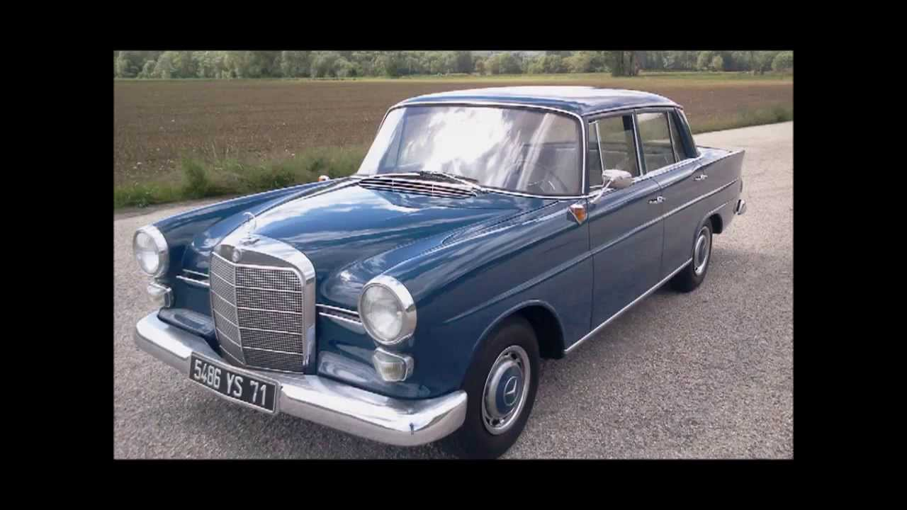 mercedes benz heckflosse 190 c w110 original blau 350 youtube. Black Bedroom Furniture Sets. Home Design Ideas