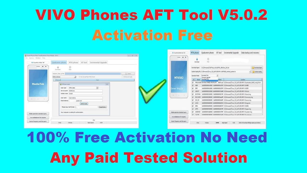 Vivo New AFT Tool V5 0 2 MTK And Qualcomm Flashing Free Activation