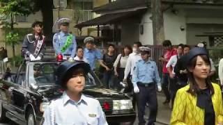 交通安全関係団体によるパレード さいたま市民会館うらわ→(埼玉会館左...