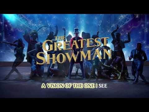 The Greatest Showman Cast - A Million Dreams (Instrumental) [Lyric Video]