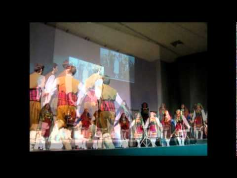 Greek dances at University of Ioannina