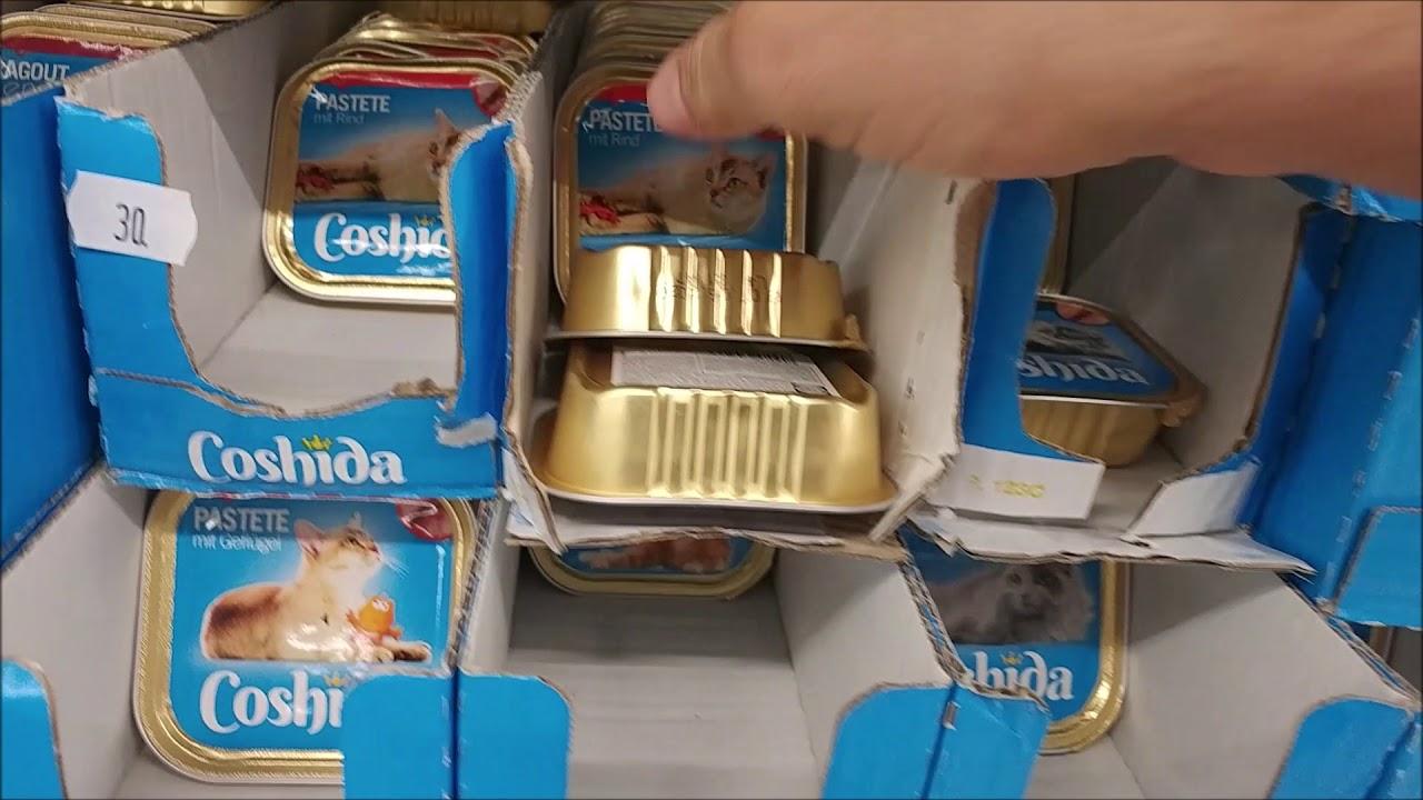 Coshiba Infos Zum Lidl Katzenfutter Youtube