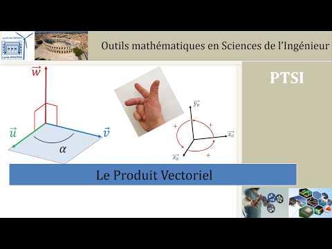 Le Produit Vectoriel En Sciences De L'Ingénieur
