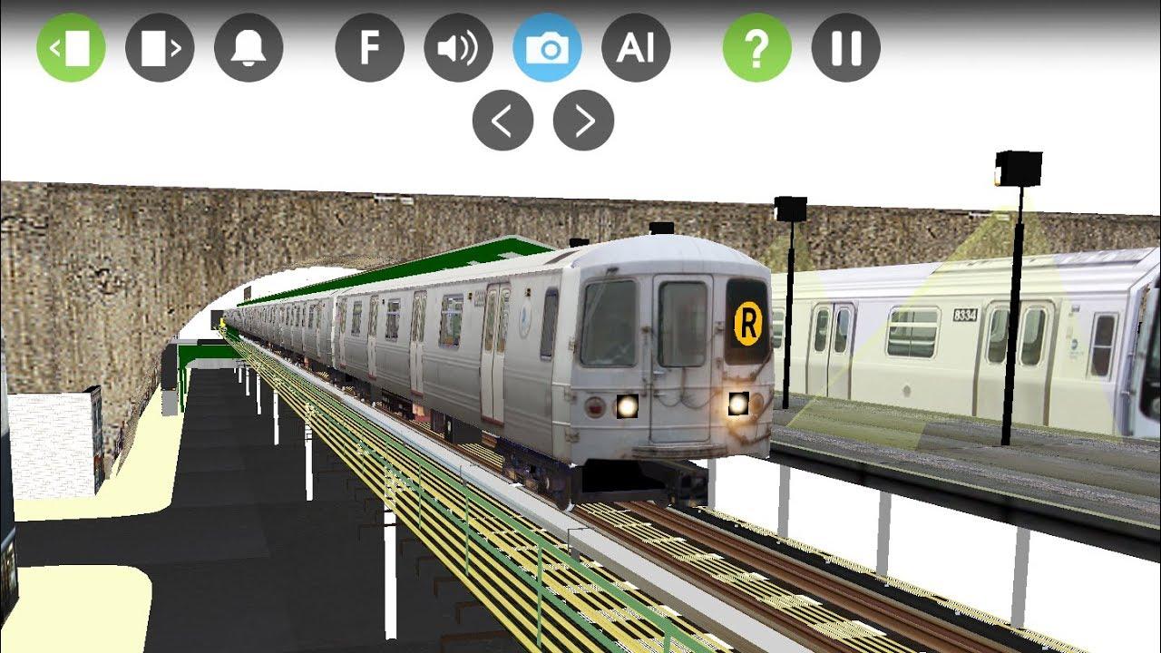 Hmmsim 2 A MTA Nyct PullMans Standard R46 (R) Train Full Route to ▶BayRidge  95th Street
