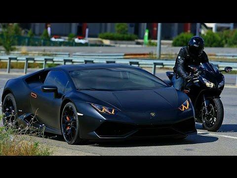 Lamborghini Huracan VS 14' CBR 1000RR