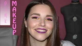 PINK MAKEUP | Maquillaje tonos rosas y morados |