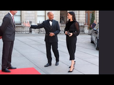 The Duchess Of Sussex FIRST SOLO Engagement Opening Oceania At Royal Academy 2018