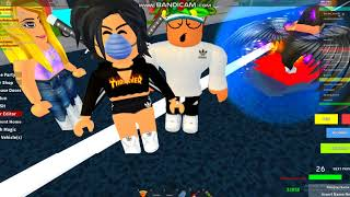 Pretending to be noob in roblox