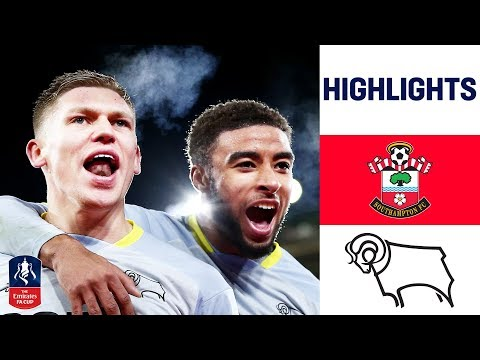 Penalty Shootout Thriller! | Southampton 2-2 Derby (3-5) | Emirates FA Cup 2018/19