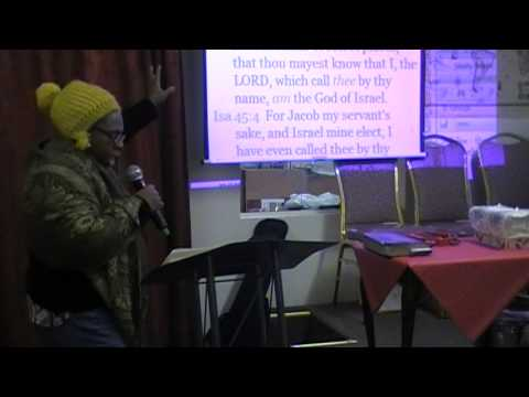 Saturday January 4th, 2014 - Pastor Ebere Ogba Trotman - Pressing On (2/2)