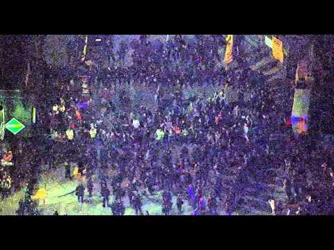 Raw: New York protest Eric Garner, Mike Brown grand jury decision