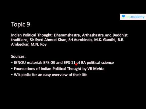 Unacademy UPSC: Approach to Political Science Paper1 for CSE Mains: Part A