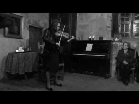 BACH- Ciaccona dalla Partita n° 2 in Re minore BWV 1004 suonata da Sonig Tchakerian