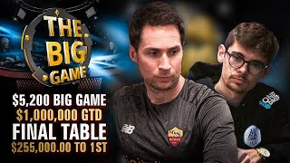 Turning $530 into $100,000+?! Big Game $1M Gtd Final Table $255,280 to 1st!