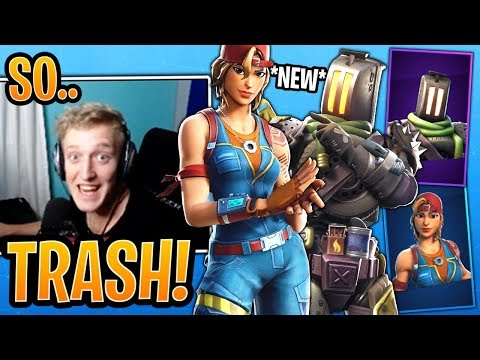 Tfue BUYS & Reacts to Both *NEW* Sparkplug and Kitbash Skins! - Fortnite Moments thumbnail