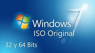 Windows 7 | ISO Original | Todas las Versiones 32 y 64 bits | Español