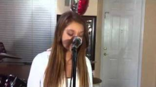 Emily Sall sings a COVER of Skyscrapper